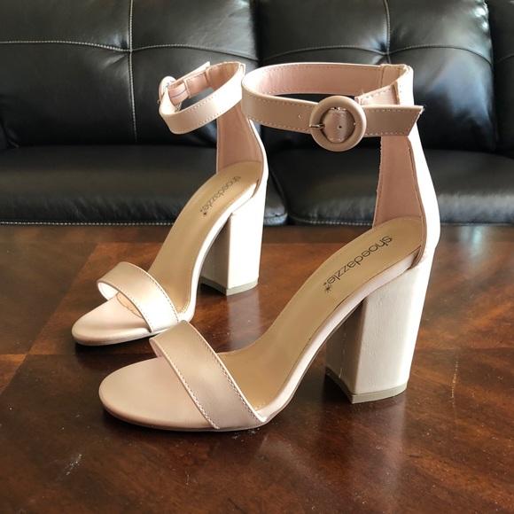 Shoe Dazzle Shoes | Light Pink Heels